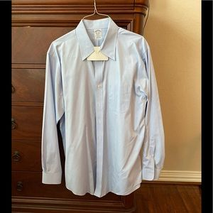 Brooks Brothers light blue button-down dress shirt